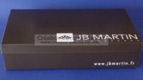 boîte en carton pour bottes JB Martin