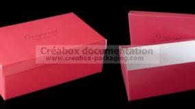 boîte automontable pour chaussures - 28x17x10cm