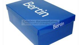boite en carton pour chaussures - Bertin