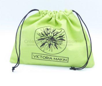 pochon fermé pour accessoires mode - 22x18 cm Victoria Makin