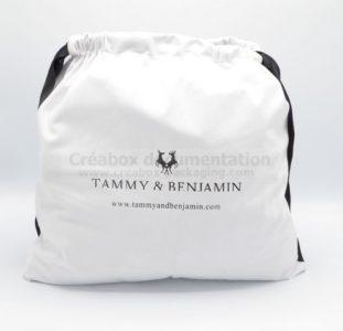 pochon en microfibre Bamatex pour maroquinerie - 42x40 cm